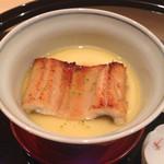 まき村 - 穴子の茶碗蒸し