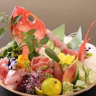 房州・江戸前の新鮮な魚介料理