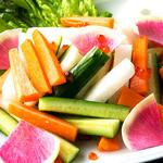 日々酒場 - 旬のスティック野菜