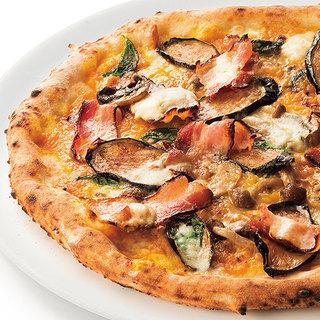 季節のおすすめピッツァ各種
