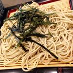 そば酒房 蕎麦しん - 純国産無農薬十割蕎麦 ¥800