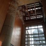 千疋屋総本店 フルーツパーラー - 2015年9月 天井かとても高くてビックリ♪