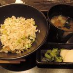 41725661 - ジャコとキュウリ漬けの焼き飯