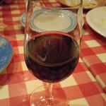 ナポリの下町食堂 - グラスワイン(赤)