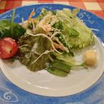 ナポリの下町食堂 - 新鮮野菜のミックスサラダ(取分け)