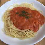 ル・シエール - エビとトマトのクリームパスタ