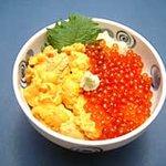 菊鮨 - うに・いくら丼・・・2940円