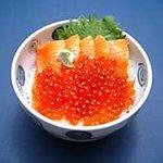 菊鮨 - 鮭親子丼・・・1785円
