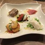 ソプラアクア - 料理写真:前菜5種盛り合わせ