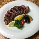 うま翔 - あか牛のクリミステーキ