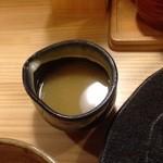つけ麺屋 やすべえ - 割りスープ