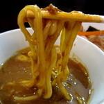 麺屋 波 - カレーつけ麺(中盛)¥930円