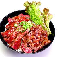 レッドロック - ステーキ丼(大盛)