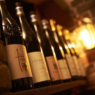日本ソムリエ協会認定の料理長自ら厳選するクオリティー・ワイン