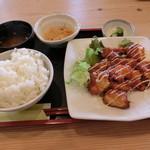 41739190 - 鶏チリマヨ定食(880円)