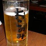 千房 - 生ビール