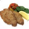 白王三元豚肩ロース肉のミラノ風カツレツ