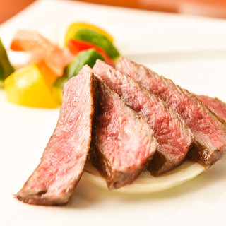 特選和牛ステーキ備長炭焼