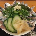 福音鮨 - サンマ丼・大盛 税込¥1190