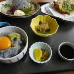 海里部 - 料理写真:ちりめん定食(1720円)。