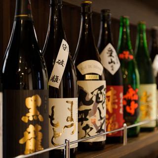 こだわりの品揃え!充実の日本酒メニュー