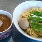 R - 【つけ麺 + 煮卵】¥770 + ¥110