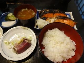 大衆料理 川治 - 塩紅しゃけ(15-09)