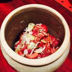 牛常 - 料理写真:壺入りカルビ