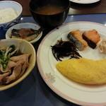 日本料理あじさい - 朝食