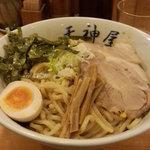 秋葉原ラーメン天神屋 - ピリ辛油そば(大盛)