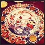 ガルニエ - 友達のお皿もきれいでした
