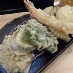 41753755 - 富士山定食の天ぷら