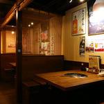 きらく苑 - テーブル席(~4名様×3)