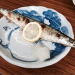 味雅 - サンマの塩焼き
