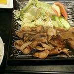 41758202 - 豚バラ焼き定食