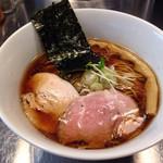 ボニートスープヌードルライク - さっぱり細麺の「鰹×鶏」