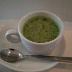 quca - 小松菜のミニスープ(ランチセット)