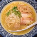 たけいち - 鶏白湯そば(あっさり) ¥800