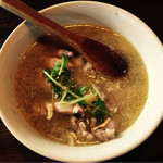 カワダ - キジ肉たっぷり鶏白湯らーめん¥1,500