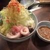 杏子 - 料理写真:みそ味いか豚もんじゃ