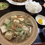 美ちゅら - 豆腐チャンプル定食