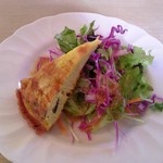 イタリアンカフェ ボスコ - ランチセットのサラダ
