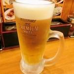 横浜らーめん 一八家 - 生ビール