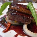 French Hana - 牛ステーキとフォアグラ