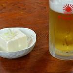 勝っつあん - 料理写真:生ビール(500円)