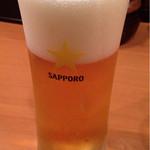 ikki - 生ビールはサッポロ黒ラベル(2015.8)