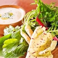 レガレガ - 旬野菜たっぷりバーニャカウダ