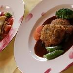 レストラン 仁 - 料理写真:仔牛ロース肉のエスカロップ