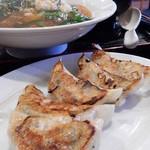 拉麺 ゆうき - 餃子