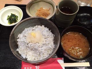 ANA FESTA 魚米処 旬 - しらす丼定食